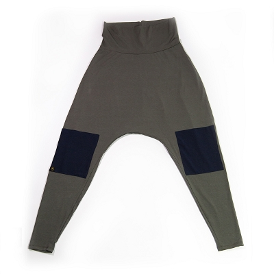 Siddhi Harem Pant CHAKRA CHARCOAL WITH NAVY