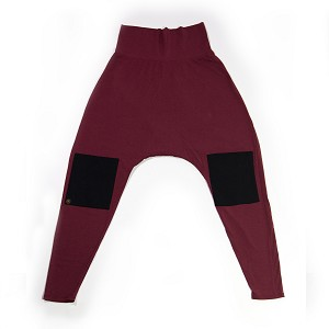 Siddhi Harem Pant Warrior Wine with Black