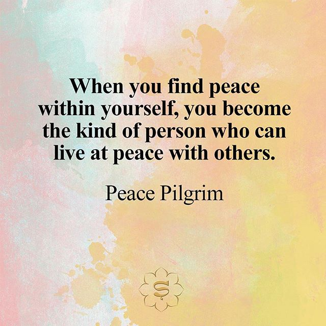 When You Find Peace Within Yourself Quotes The Mercedes Benz