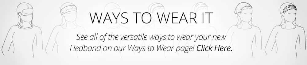 Ways to Wear Headbands - Siddhiwear