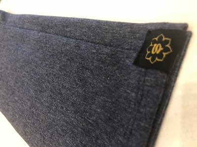 Stretch Headband HATHA HEATHER BLUE