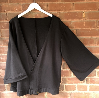 THE SIDDHI CARDI - SOLID BLACK