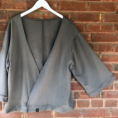THE SIDDHI CARDI - SOLID CHARCOAL