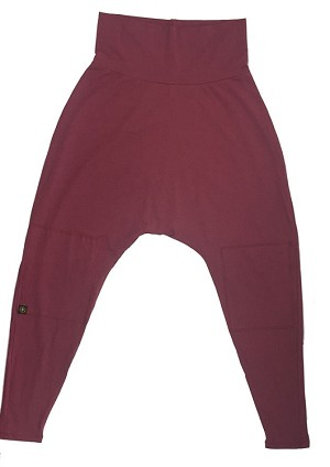 Siddhi Harem Pant SOLID WARRIOR WINE